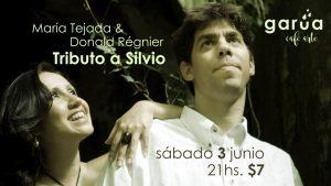 Afiche Garúa_tributo a Silvio 2017
