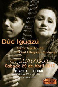 Afiche Iguazú Guayaquil_Altillo abril 2017