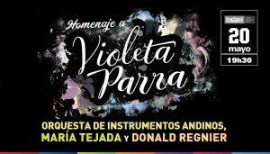 Afiche Violeta Parra_Concierto OIA 2017