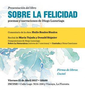 Afiche recital canciones Diego Luzuriaga_abril 2017