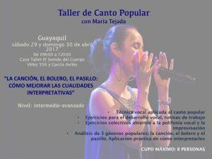 Taller Guayaquil 2017